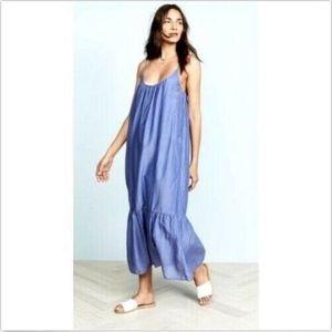 Velvet by Graham & Spencer Dresses - Velvet By Graham Spencer Women's Small Blue Dress